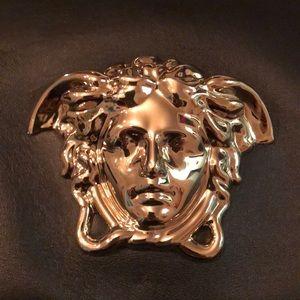 Versace Bags   Black Palazzo Bag W Gold Medusa Chain   Poshmark bfe4360914